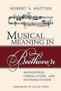 Musical Meaning in Beethoven 0 9780253217110 0253217113