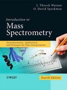 Introduction to Mass Spectrometry 4th edition 9780470516348 0470516348