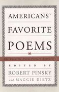 Americans' Favorite Poems 1st Edition 9780393048209 0393048209