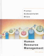 Human Resource Management 5th edition 9780618123292 0618123296