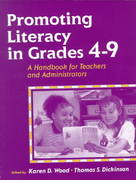 Promoting Literacy in the Grades 4-9 1st edition 9780205283149 0205283144