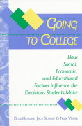 Going to College 1st Edition 9780801860010 0801860016