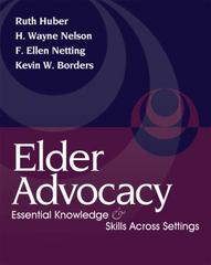 Elder Advocacy 1st Edition 9780495000044 0495000043