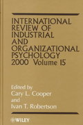 International Review of Industrial and Organizational Psychology, 2000 1st edition 9780471858553 0471858552