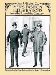 Men's Fashion Illustrations from the Turn of the Century 0 9780486263533 0486263533