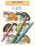 Designs for Coloring: Cats 0 9780448031484 0448031485