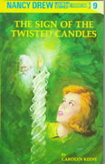 Nancy Drew 09: the Sign of the Twisted Candles 0 9780448095097 0448095092
