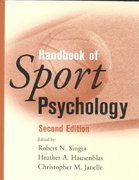Handbook of Sport Psychology 2nd edition 9780471379959 0471379956