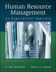 Human Resource Management 6th Edition 9780078029165 0078029163