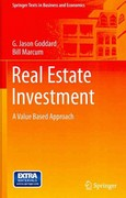 Real Estate Investment 1st Edition 9783642235269 3642235263