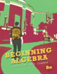Beginning Algebra 8th edition 9780321769527 032176952X