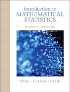 Introduction to Mathematical Statistics 7th Edition 9780321795434 0321795431