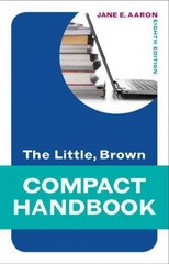 The Little, Brown Compact Handbook 8th Edition 9780205236602 020523660X