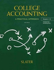 College Accounting Chapters 1-12 with Study Guide and Working Papers 12th edition 9780132772174 0132772175