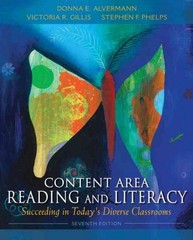Content Area Reading and Literacy 7th edition 9780132685191 0132685191