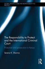 The Responsibility to Protect and the International Criminal Court 1st Edition 9780415507509 0415507502