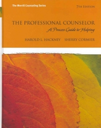 The Professional Counselor 7th Edition 9780132595148 0132595141