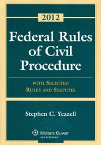 Federal Rules of Civil Procedure 1st Edition 9781454810896 1454810890