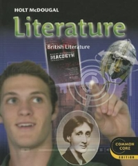 British Literature 1st Edition 9780547618425 0547618425