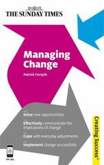 Managing Change 1st Edition 9780749463892 0749463899