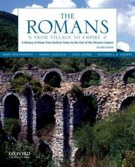 The Romans 2nd Edition 9780199730575 0199730571