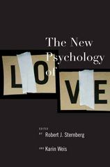 The New Psychology of Love 1st Edition 9780300136173 030013617X