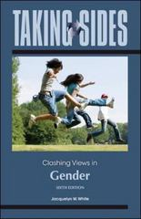 Taking Sides: Clashing Views in Gender 6th Edition 9780078050305 0078050308