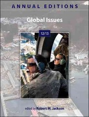 Annual Editions: Global Issues 12/13 28th edition 9780078051180 0078051185