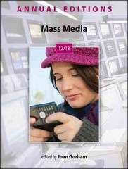 Annual Editions: Mass Media 12/13 18th Edition 9780078051241 007805124X