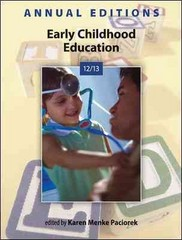 Annual Editions: Early Childhood Education 12/13 33th Edition 9780078051265 0078051266