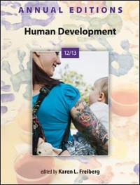 Annual Editions: Human Development 12/13 41st edition 9780078051289 0078051282