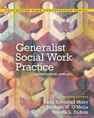 Generalist Social Work Practice 7th edition 9780205036516 0205036511
