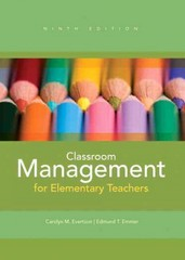 Classroom Management for Elementary Teachers 9th Edition 9780132693264 0132693267