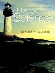 Introduction to Management Science 11th Edition 9780132751919 0132751917