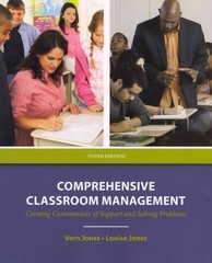 Comprehensive Classroom Management 10th edition 9780132697088 0132697084