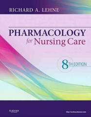 Pharmacology for Nursing Care 8th Edition 9781437735826 1437735827