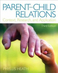 Parent-Child Relations 3rd Edition 9780133072068 0133072061