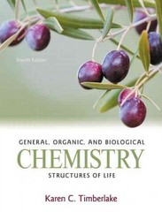 General, Organic, and Biological Chemistry 4th edition 9780321750891 0321750896