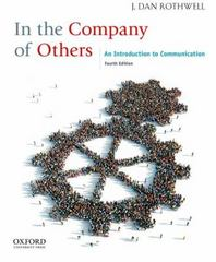 In the Company of Others 4th Edition 9780199861620 0199861625