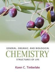 General, Organic, and Biological Chemistry 4th Edition 9780321750129 0321750128