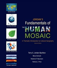 Jordan's Fundamentals of the Human Mosaic 2nd Edition 9781464110689 1464110689