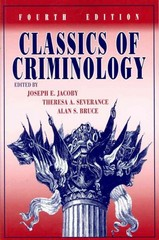 Classics of Criminology 4th Edition 9781577667360 1577667360