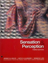 Sensation & Perception 3rd edition 9780878938766 0878938761