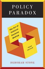 Policy Paradox 3rd Edition 9780393912722 0393912728