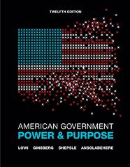 American Government 12th edition 9780393912074 0393912078