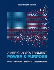 American Government 12th edition 9780393912081 0393912086