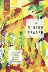 The Norton Reader 13th Edition 9780393912197 0393912191