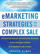 eMarketing Strategies for the Complex Sale 1st edition 9780071628648 0071628649