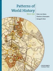 Patterns of World History 1st Edition 9780195333343 0195333349