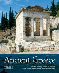 Ancient Greece: A Political, Social, and Cultural History 3rd Edition 9780199931545 0199931542